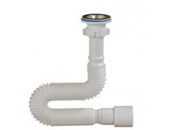А-3014  ОРИО гофросифон для умывальника  с выпуском 1 1/4 * 40/50 макс. длина 1400 мм  (60 шт)