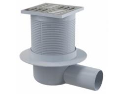 Сливной трап 105*105/50мм бок с гидрозатвором SMART (APV31) ALKAPLAST