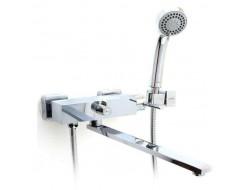 Смеситель для ванны хром  G2204   (ф35, длинный гусак 35 см, евро перекл.)    GAPPO