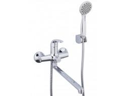 Смеситель для ванны хром  G2235   (ф35, длинный гусак 35 см, евро перекл.)    GAPPO