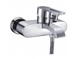 Смеситель для ванны хром  G3001   (ф40, короткий гусак, перекл. на гусаке)  GAPPO