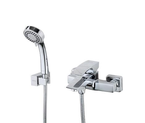Смеситель для ванны хром (Ø35, короткий гусак, европереключатель) G3007 Gappo
