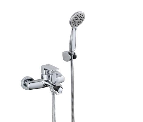 Смеситель для ванны хром (Ø35, короткий гусак, европереключатель) G3260 Gappo