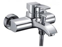 Смеситель для ванны хром  G3008   (ф35, короткий гусак, перекл. на гусаке)  GAPPO