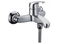 Смеситель для ванны хром  G3214   (ф35, короткий гусак, евро перекл)    GAPPO