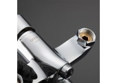 Смеситель для ванны хром Ø35, длинный гусак 35 см, европереключатель G2215 GAPPO