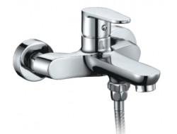 Смеситель для ванны хром  G3215   (ф35, короткий гусак, евро перекл)    GAPPO