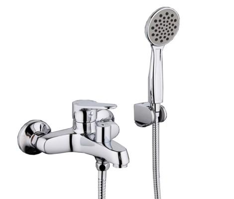 Смеситель для ванны хром (Ø35, короткий гусак, европереключатель) G3236 Gappo