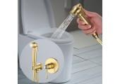 Встроеный гигиенический душ хрусталь ручка G7297-4     GAPPO