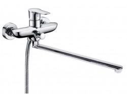 Смеситель для ванны хром  G2261   (ф35, длинный гусак 35 см, евро перекл.)    GAPPO