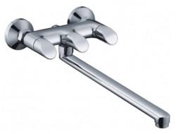 Смеситель для ванны хром  G2241   (длинный гусак 35 см, евро перекл. 90, п/об)  GAPPO
