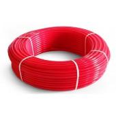 Труба сшитый полиэтилен 16 красная TIM (200м)