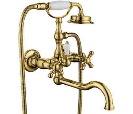 Смеситель д/ванны золото G3289-6                       GAPPO