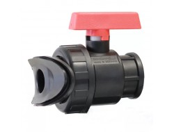 Кран шаровый LFT - 40 мм туман GS 70440 Aquapulse