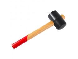 Киянка резиновая, деревянная рукоятка, 680 г Hobbi (6 шт)