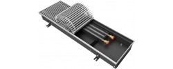 Внутрипольный радиатор отопления KVZ 200-85-1200 без решетки Techno