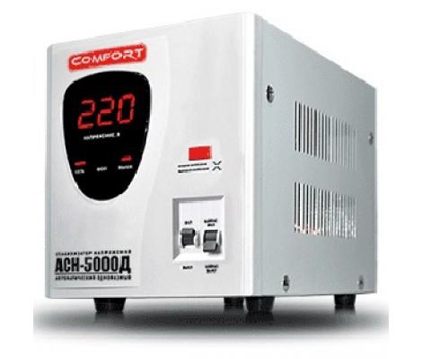 Стабилизатор электромеханический 5000 Вт Комфорт