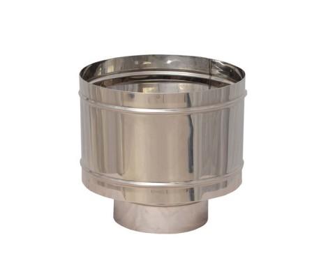 Зонт - Д с ветрозащитой (430/0,5 мм) Ф80 Ferrum