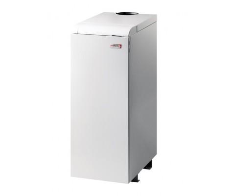 Котел газовый Медведь 20 KLOM 17 кВт, 1 конт, дым, напольный, электророзжиг, чуг.теп. PROTHERM