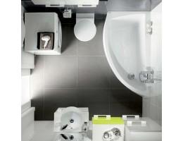 Дизайнерские решения для маленькой ванной